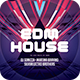 EDM House Flyer - GraphicRiver Item for Sale