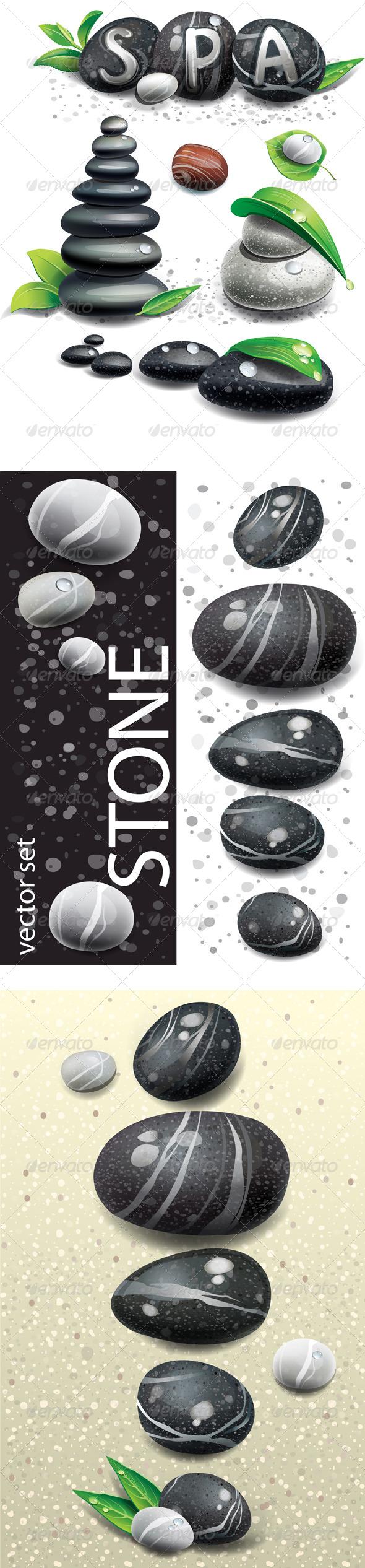 GraphicRiver Spa stones 7636587