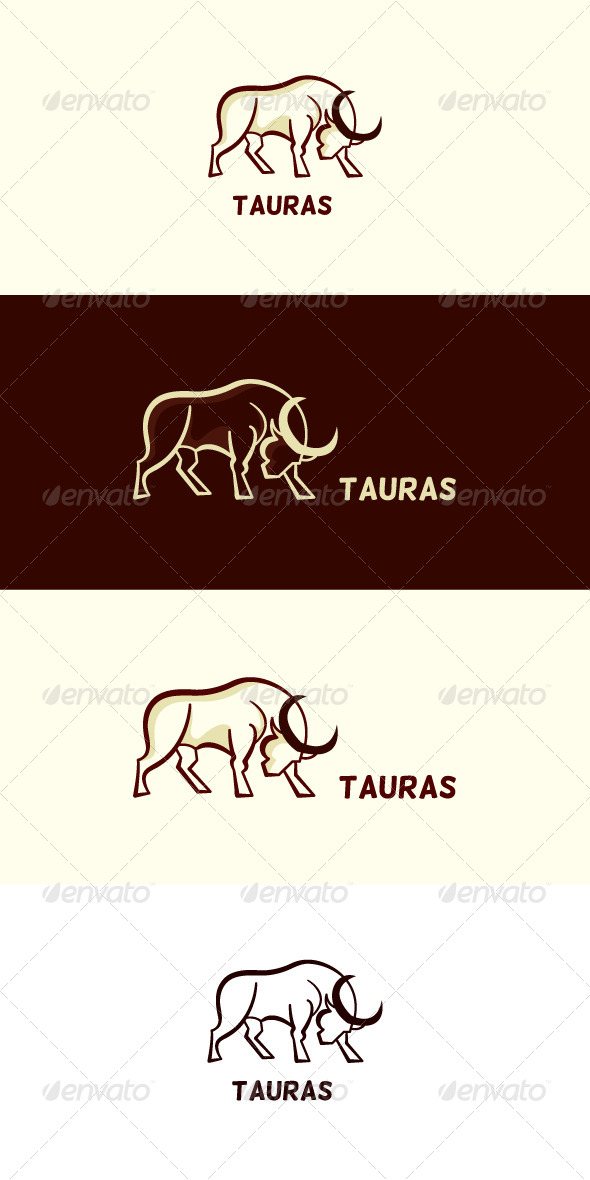 GraphicRiver Tauras Stock Logo Template 7636604