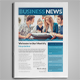 Clean Business Newsletter - GraphicRiver Item for Sale