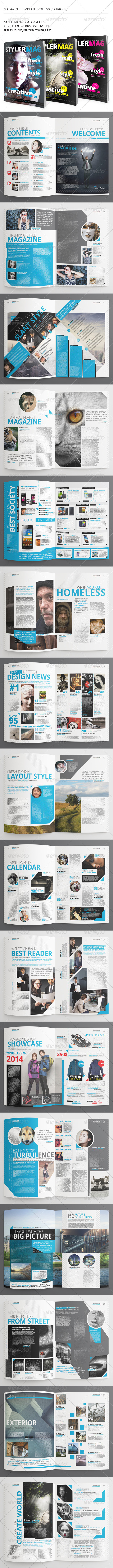 GraphicRiver 32 Pages Style Magazine Vol50 7636718