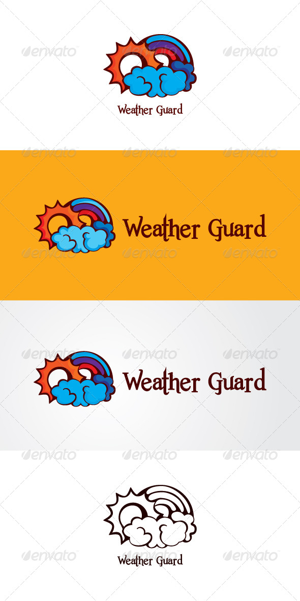 GraphicRiver Weather Guard Stock Logo Template 7636844