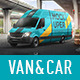 Van & Car Mock-Ups (2 PSD) - GraphicRiver Item for Sale