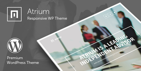 Atrium - Responsive One Page WordPress Theme - Business Corporate