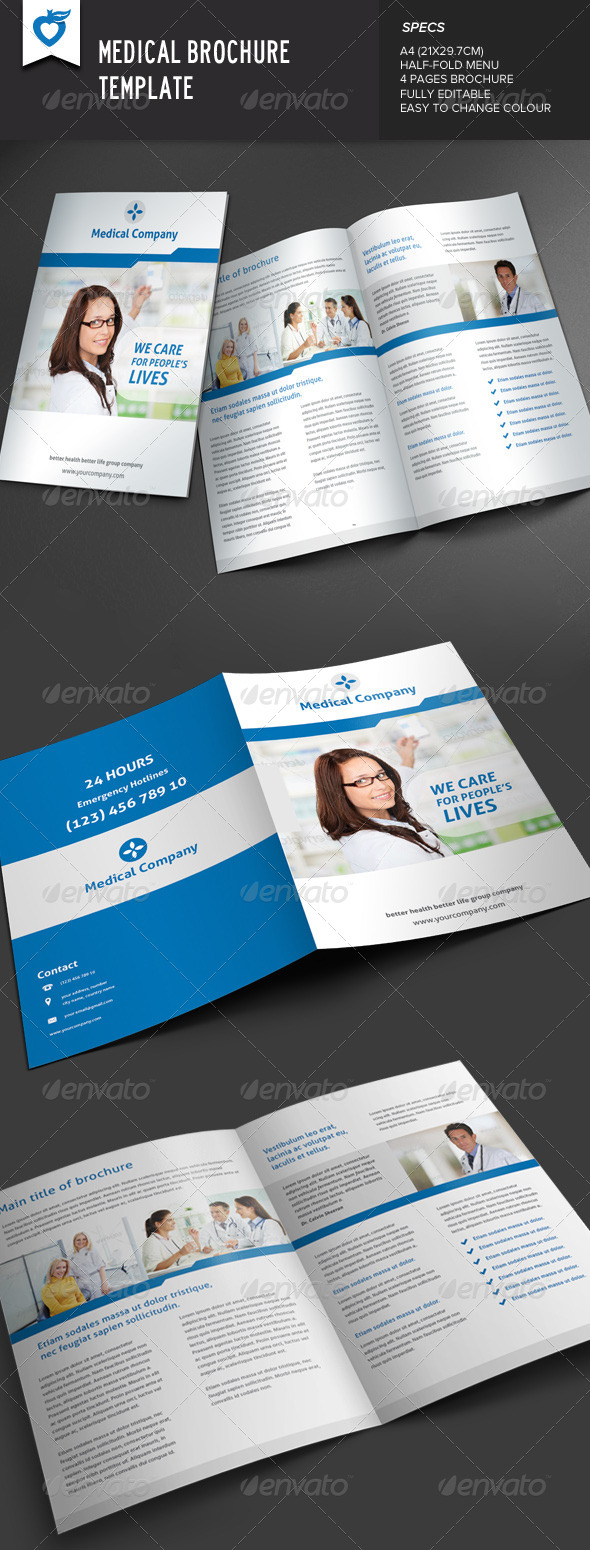 GraphicRiver Medical Brochure 7636994
