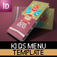 Kids Menu - GraphicRiver Item for Sale