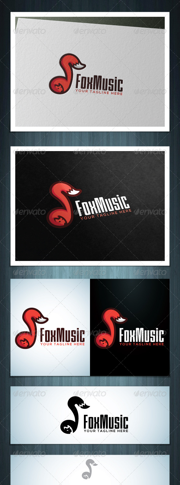 GraphicRiver Fox Music 7637625