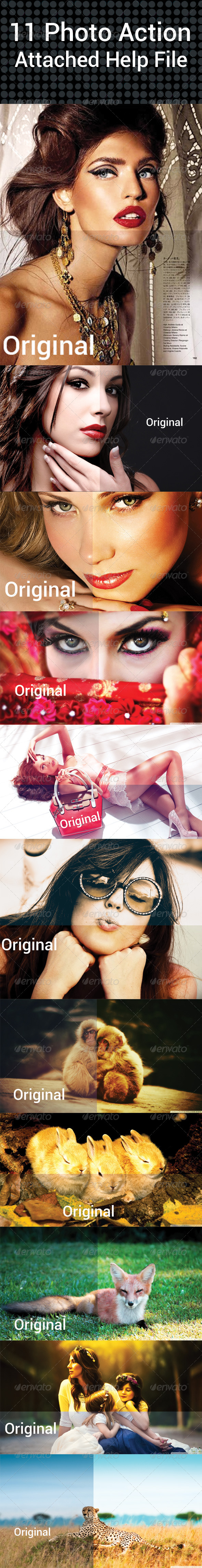 GraphicRiver 11 Photo Action 7637627