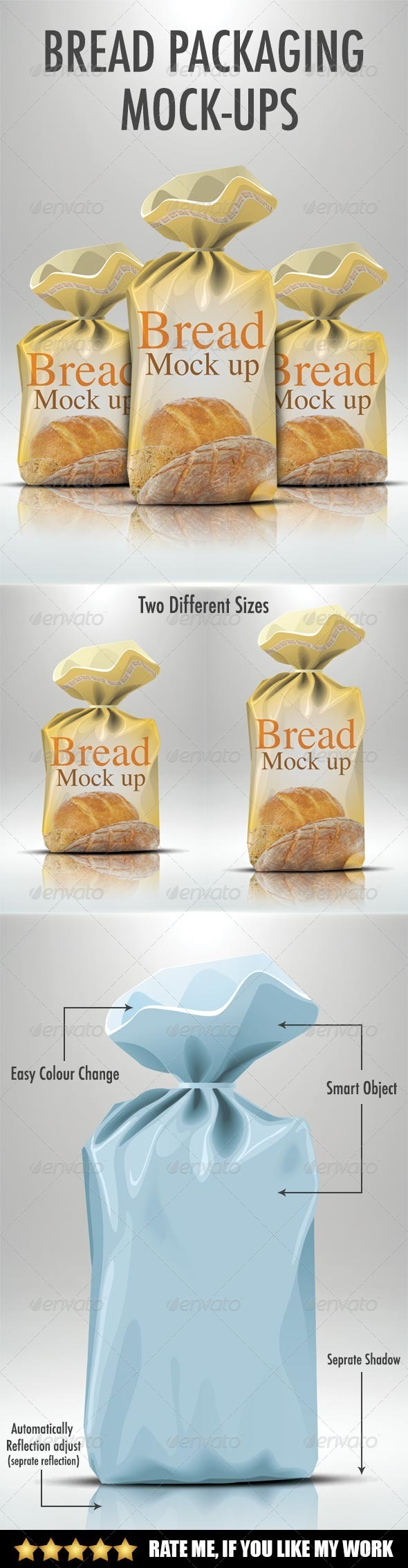 GraphicRiver Bread packaging mock-up 7638320
