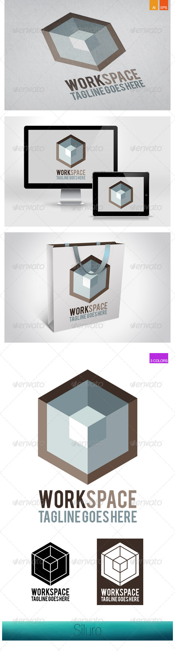 GraphicRiver Work Space 7638415