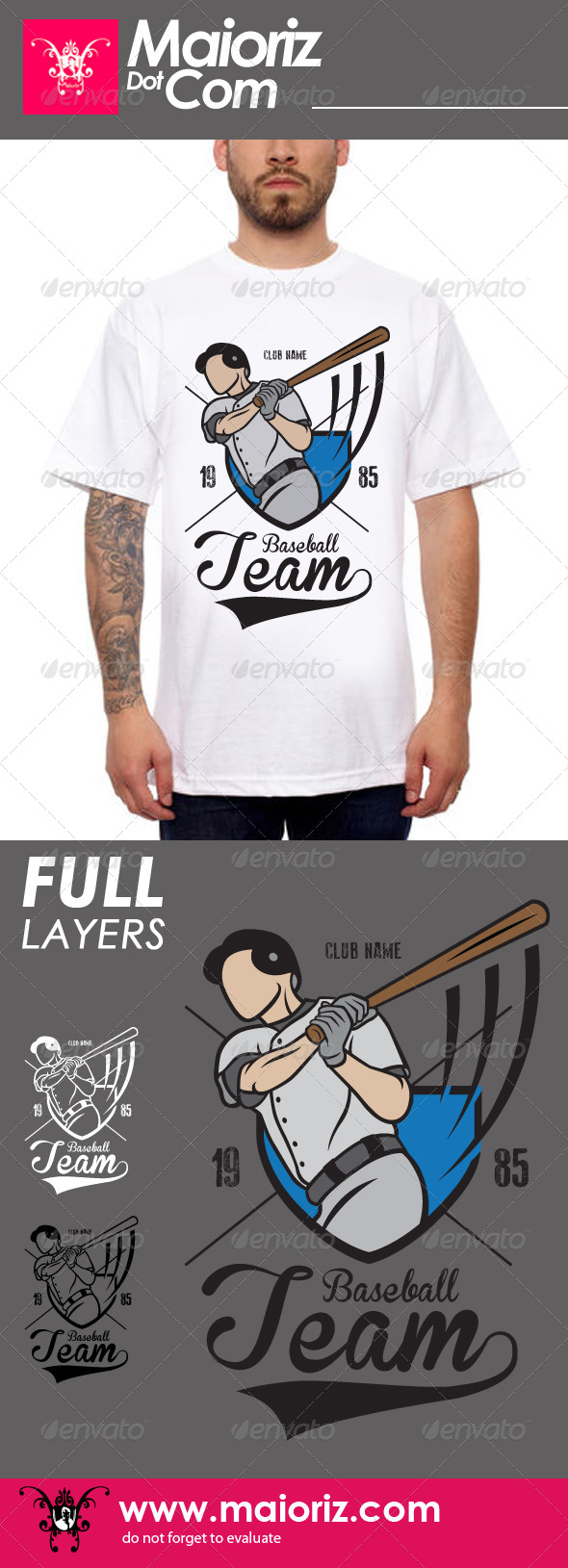 Baseball Team Tshirt