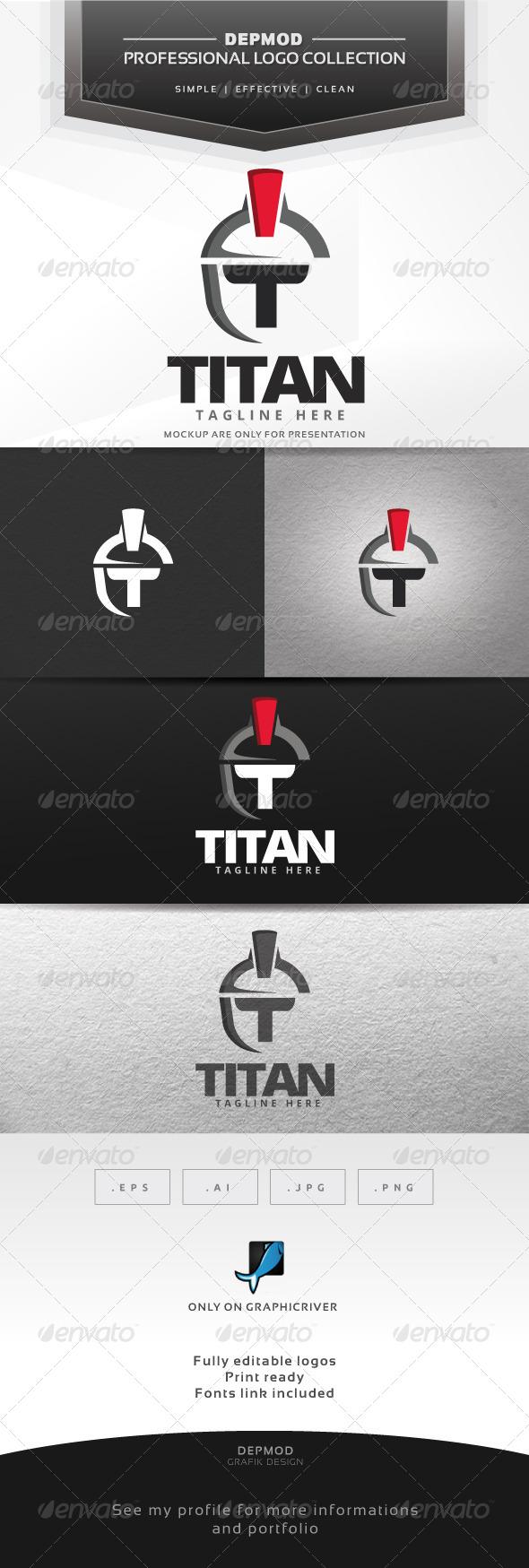 GraphicRiver Titan Logo 7638719