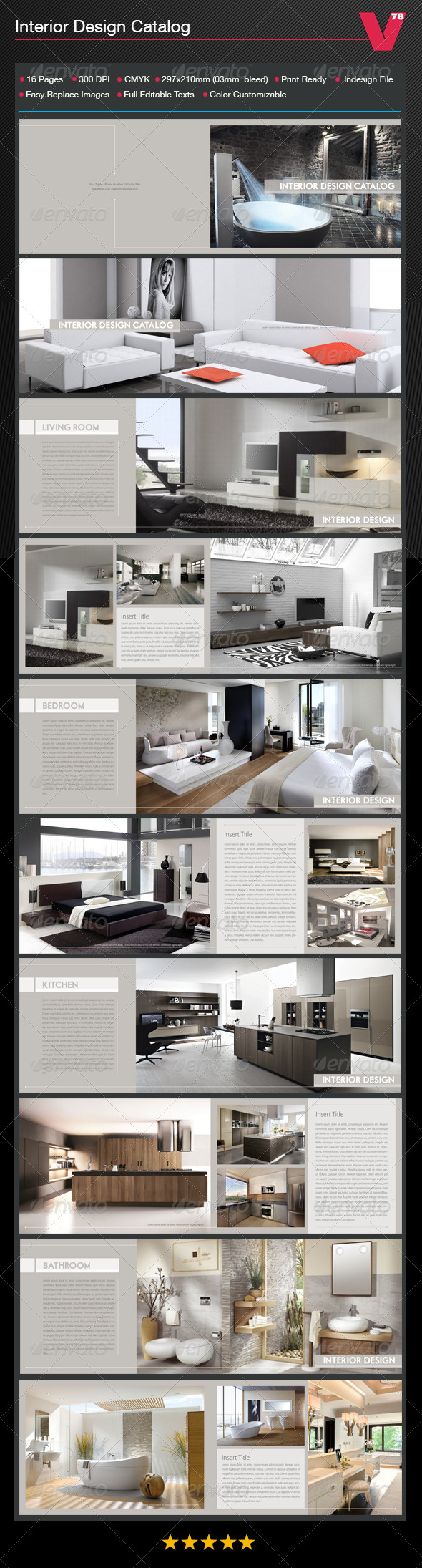 GraphicRiver Interior Design Catalog 7639032