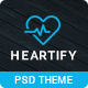 Heartify - Medic PSD Templates - ThemeForest Item for Sale