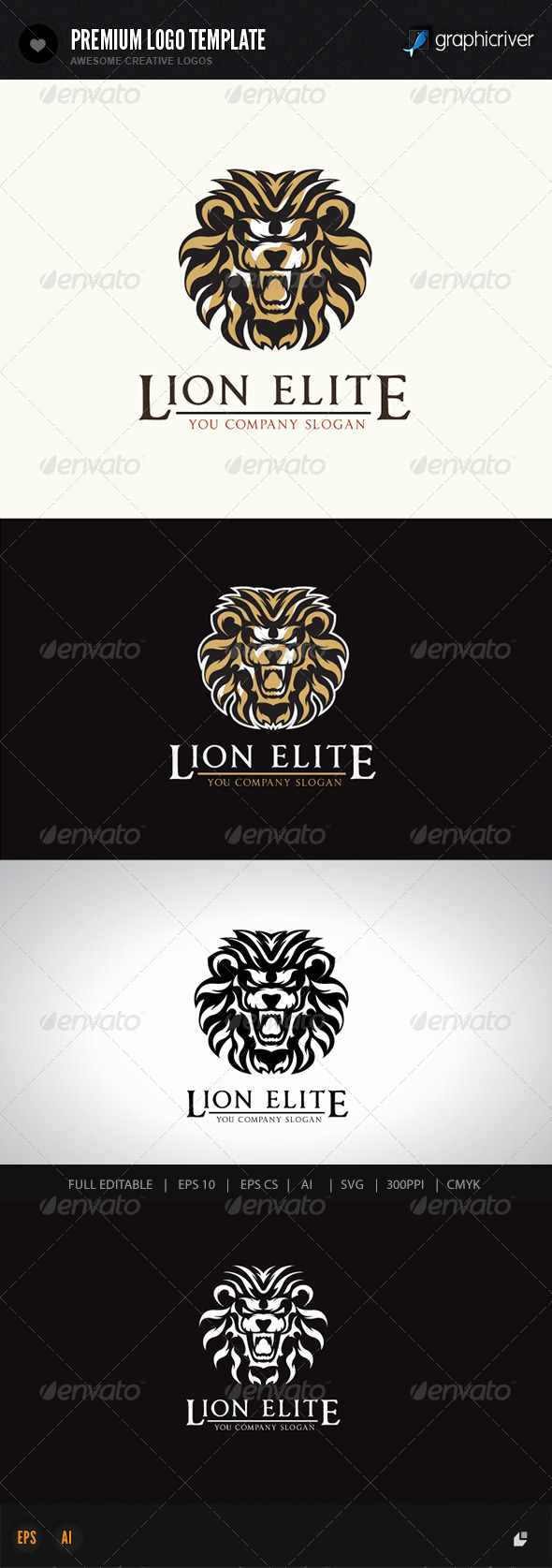 GraphicRiver Lion Elite 7639480