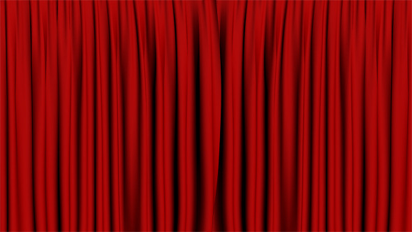Theatrical Curtain Open