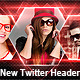New Twitter Profile Header Backround Design - GraphicRiver Item for Sale