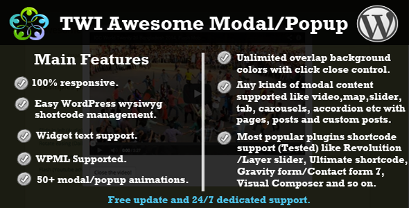 CodeCanyon TWI Awesome Modal Popup 7602885