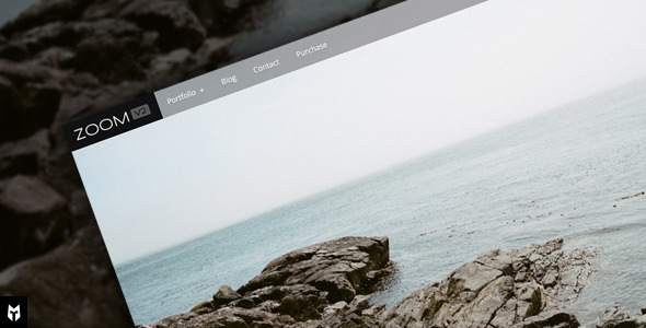 Zoom: WordPress Photography Portfolio + Blog