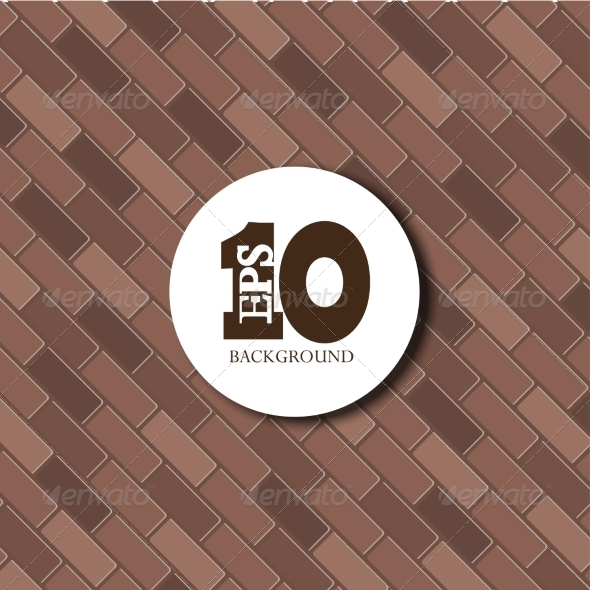 GraphicRiver vector red brick background texture Eps10 7641054