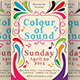 Colour of Sound Flyer Templates - GraphicRiver Item for Sale