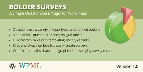 CodeCanyon Bolder Surveys for WordPress 7641513