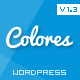Colores - Responsive Wordpress vCard - ThemeForest Item for Sale