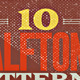 10 Halftone Textures - GraphicRiver Item for Sale