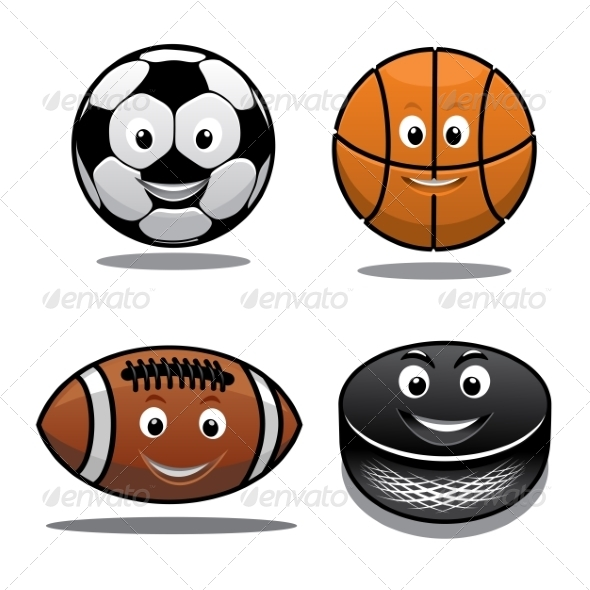 GraphicRiver Set of Sports Equipment Icons 7642021