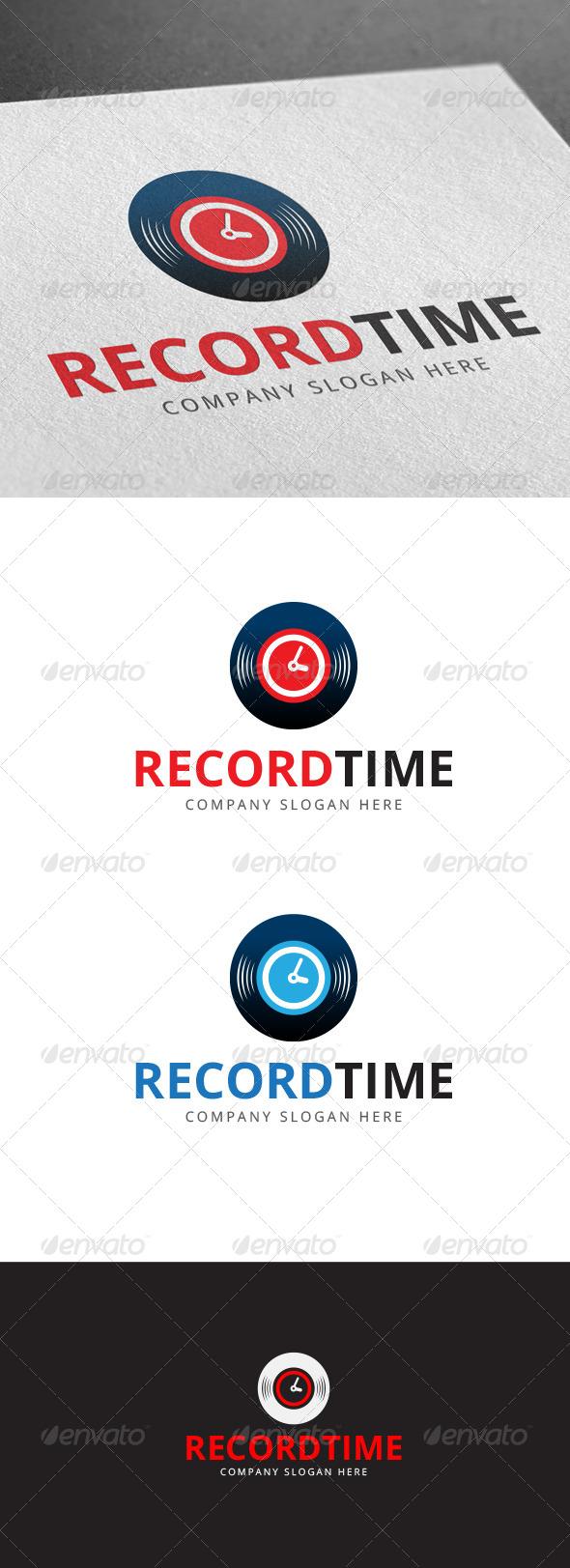 GraphicRiver Record Time 7642147