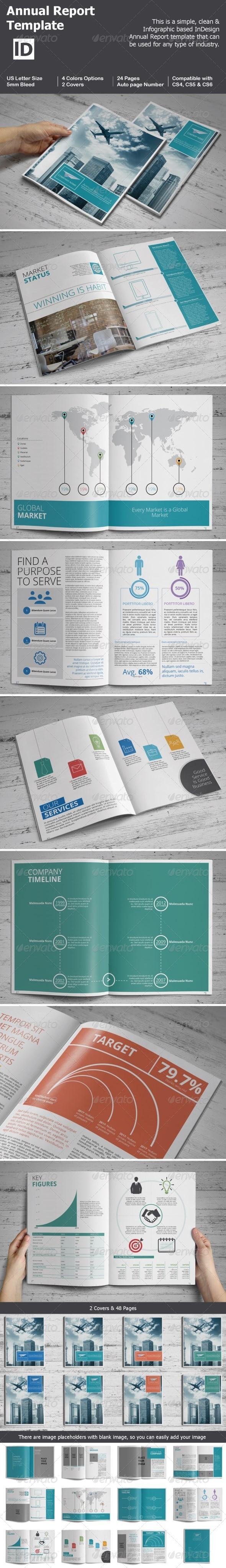 GraphicRiver Annual Report Template 7642611