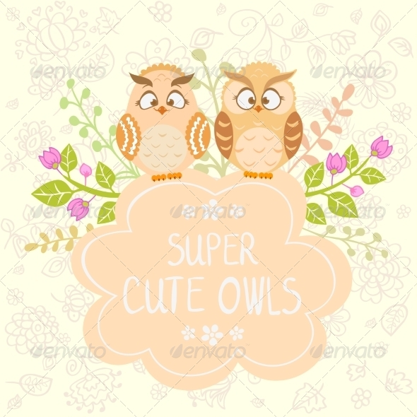 GraphicRiver Owls 7643049