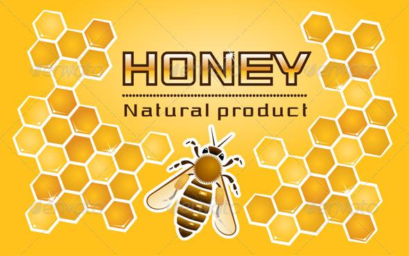 GraphicRiver Honey Label 7643629
