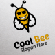 Cool Bee Logo Template - GraphicRiver Item for Sale