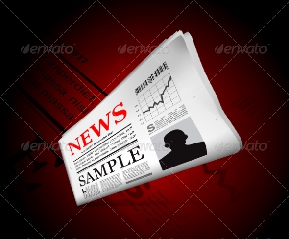 GraphicRiver News in Newspaper 7644089