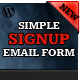 Simple Signup - WordPress Email Subscription Form - CodeCanyon Item for Sale