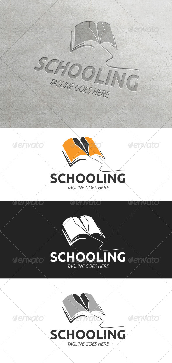 GraphicRiver Schooling Logo Template 7601234