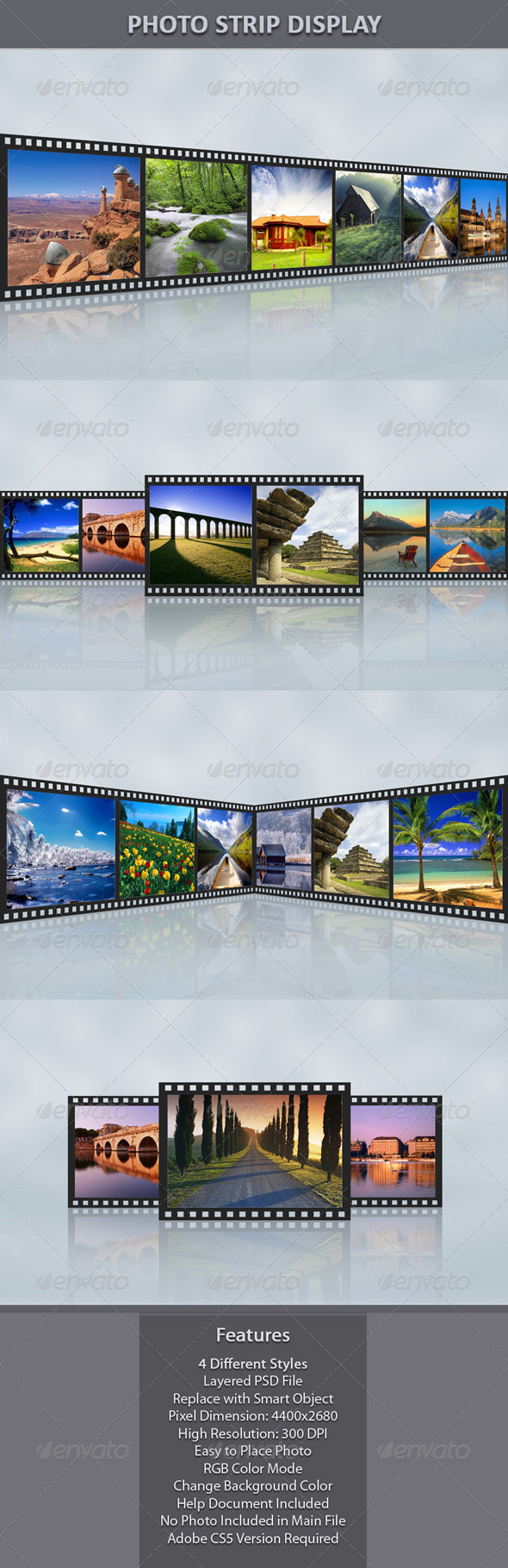 GraphicRiver Photo Strip Display 7644232