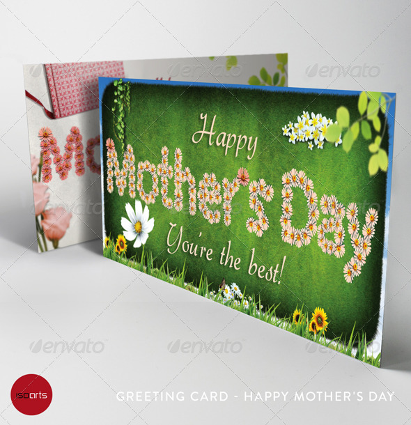 Mother's Day Greeting Cards - Vol.1 - Holiday Greeting Cards