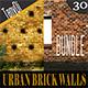 Various Urban Brick Walls | Bundle - GraphicRiver Item for Sale