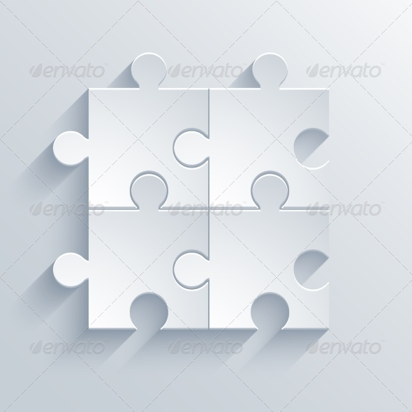 GraphicRiver Modern Puzzle Icon 7645505