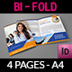 Company Brochure Bi-Fold Template Vol.27 - GraphicRiver Item for Sale