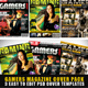 Gamers Magazine Cover Templates - GraphicRiver Item for Sale