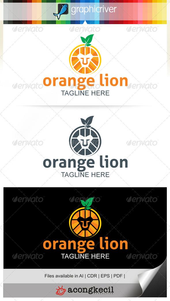 GraphicRiver Orange Lion 7645556