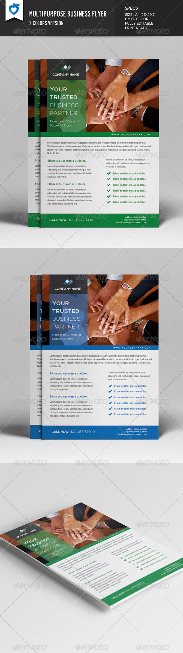 GraphicRiver Multipurpose Business Flyer 7645632