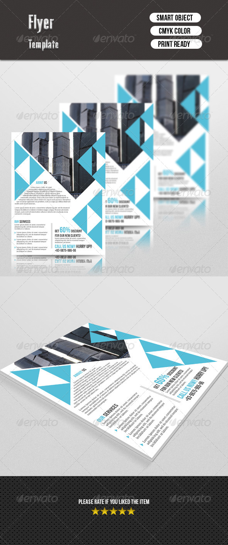 GraphicRiver Corporate Flyer 7645741