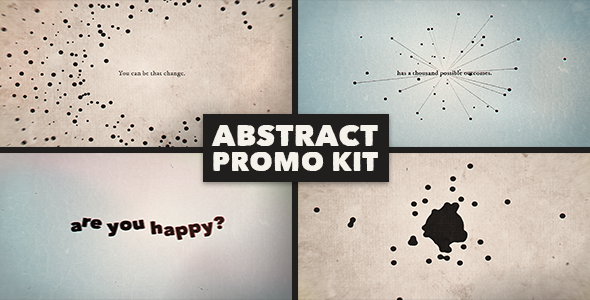 Abstract Promo Kit