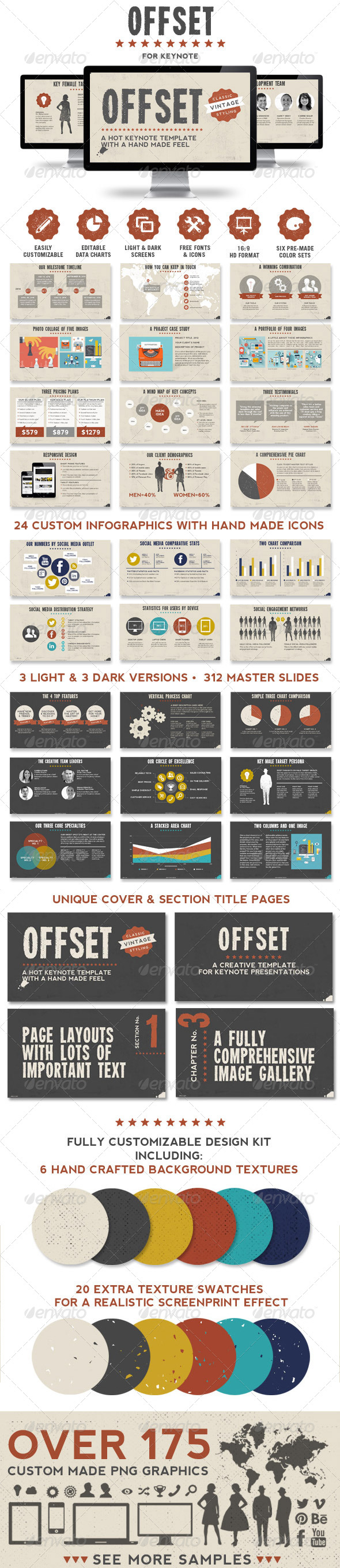 GraphicRiver Offset Keynote Presentation Template 7646141