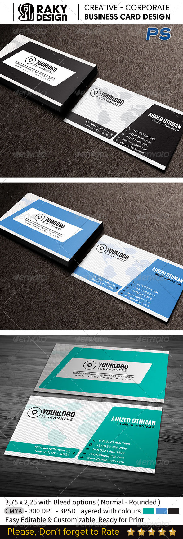 Corporate Business Card V13