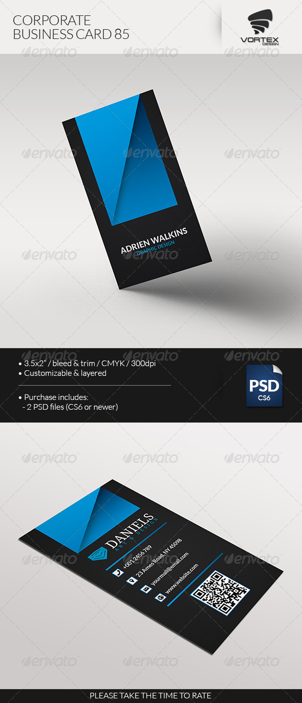 GraphicRiver Corporate Business Card 85 7646281